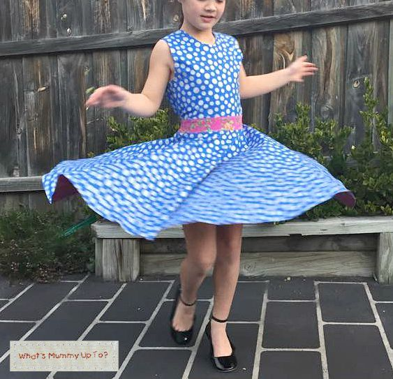 What's Mummy Up To ...: Pattern Test: The Cecily Rose Dress