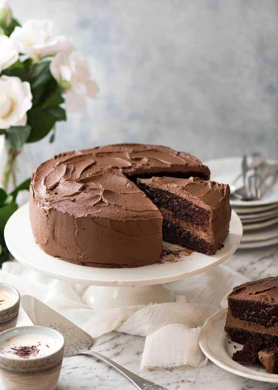 Chocolate cake recipe moist chocolate cake chocolate