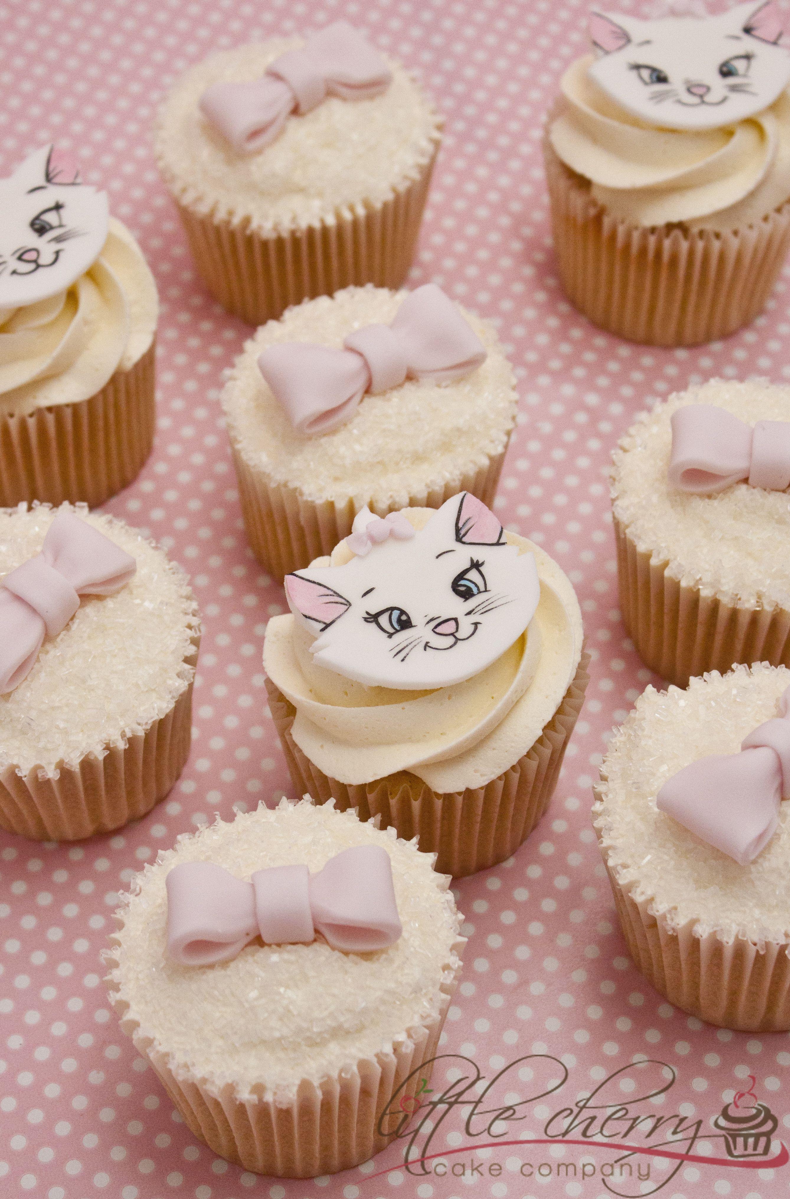Marie Aristocats Cupcakes Cupcakes Marie Aristocats Disney Cupcakes Disney Cakes
