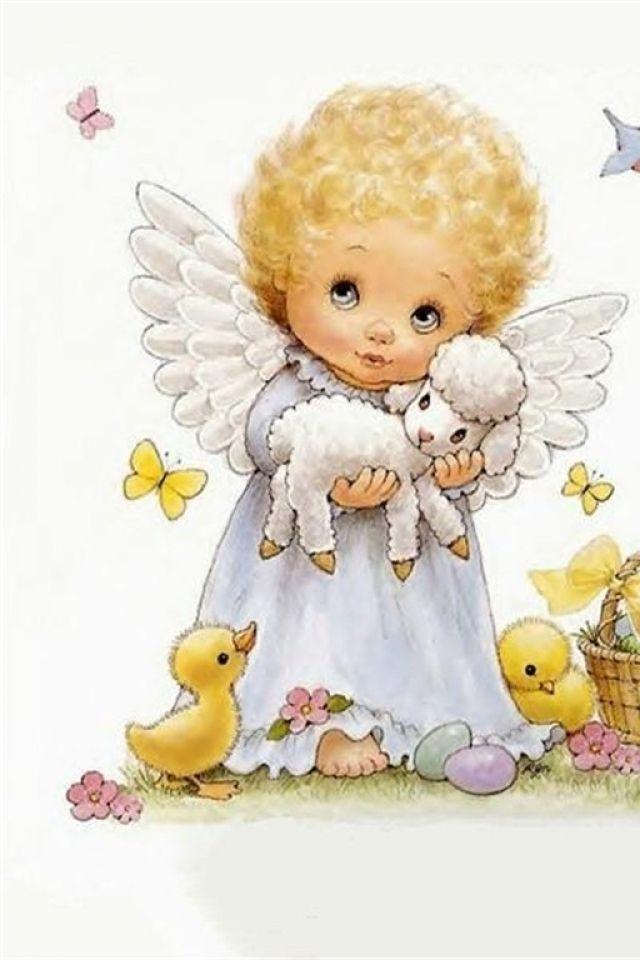 Baby Wallpaper Cartoon Angel