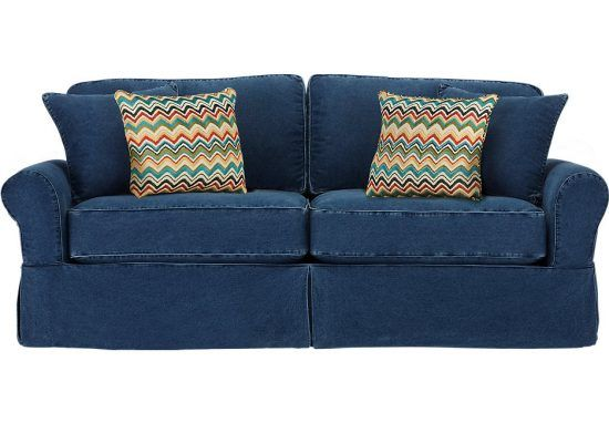 Denim Sofa Covers Exist In Numerous Styles Patterns Materials Looks And Designs One Very Trendy Cover Material Is
