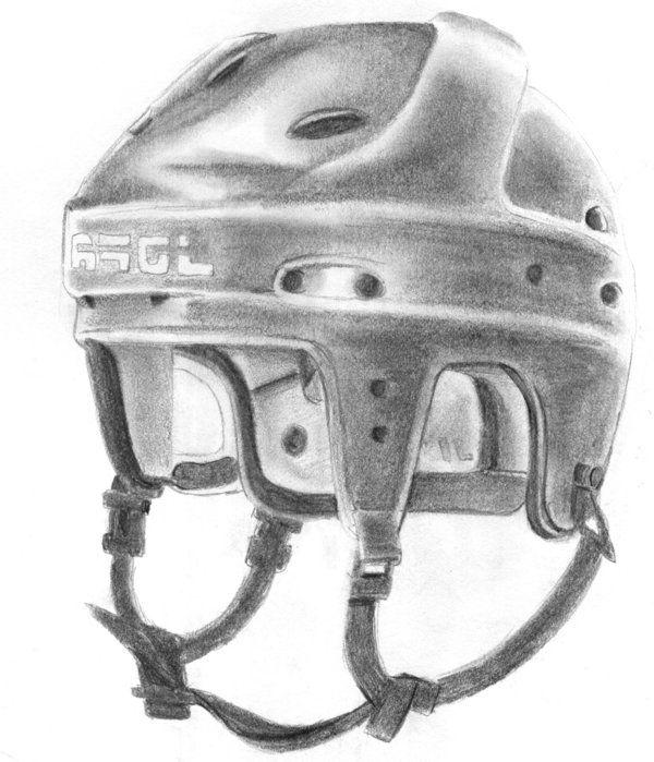 Hockey Helmet By Celebrenithil Deviantart Com On Deviantart Hockey Helmet Helmet Hockey