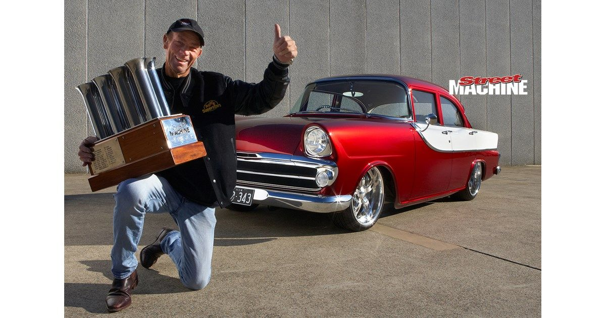 The winner of the 2014 Valvoline Street Machine Of The Year award is Henry Parry's FB Holden, kno...