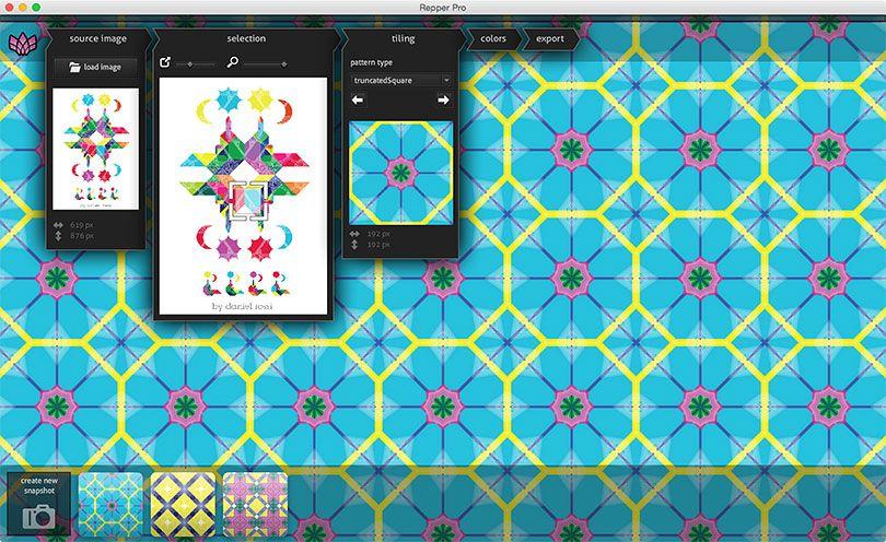 Repper Amazing Pattern Design Repper Is A Pattern Creator That