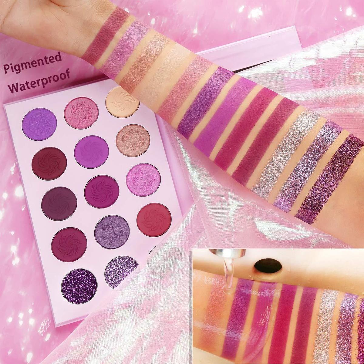 Dream Purple Palette in 2020 Purple palette, Shimmer