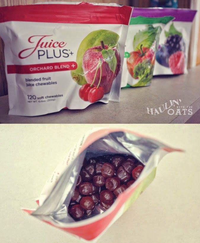 Juice Plus gummies - get your entire day's servings of fruits and