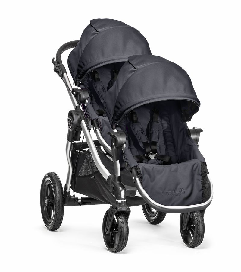 Baby Jogger 2014 City Select Double Stroller Titanium