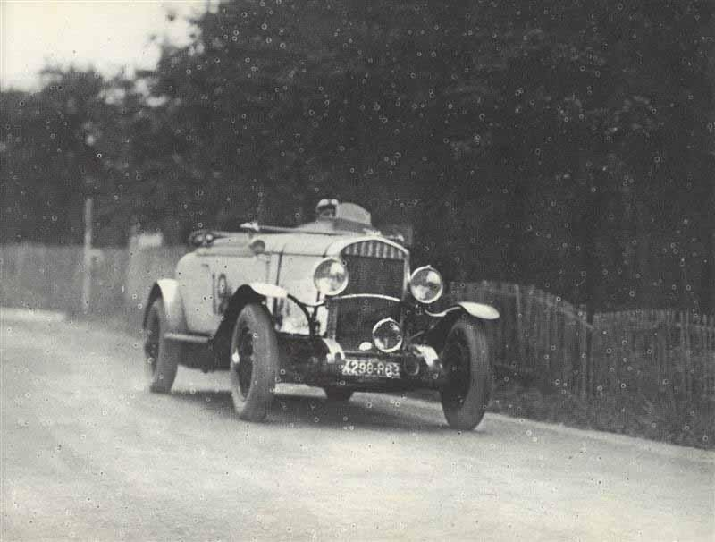 LE MANS 1929 - Chrysler 77  #12