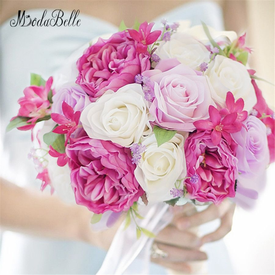 Modabelle 2017 Western Style Wedding Flowers Bridal Bouquets ...