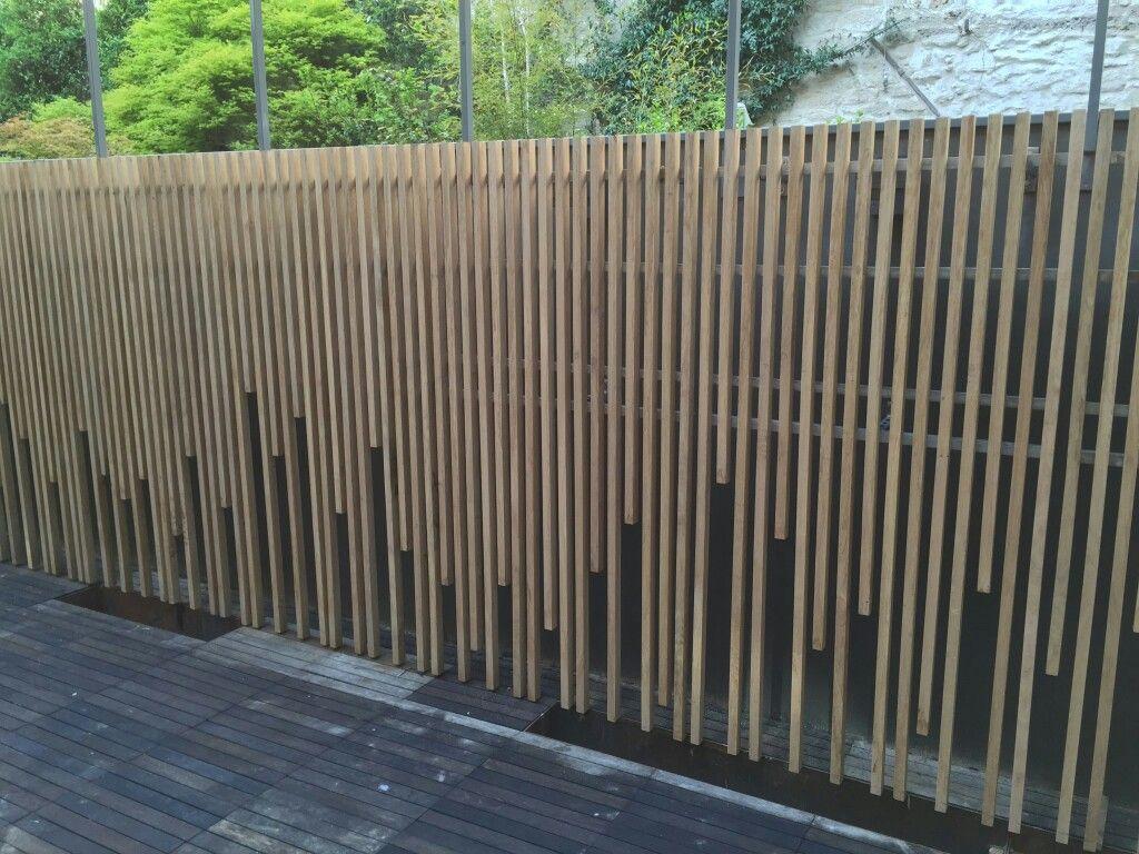 Habillage D Un Mur De Cloture mur bois | habillage mur exterieur, mur exterieur
