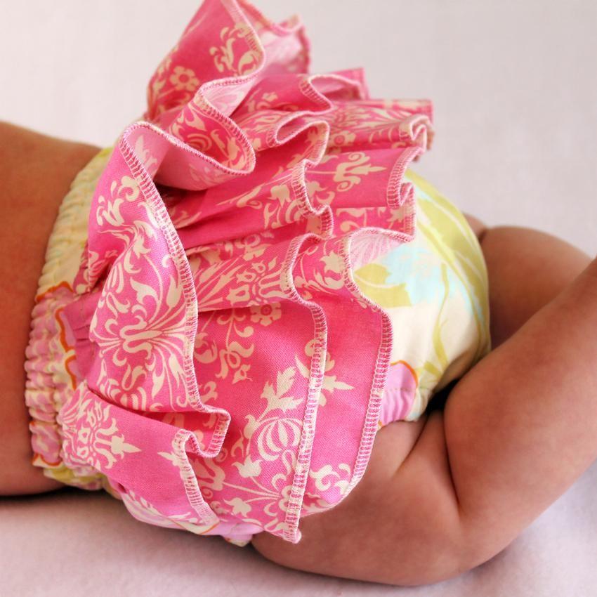 Ruffled Diaper Cover Pattern детское шитье одежда для