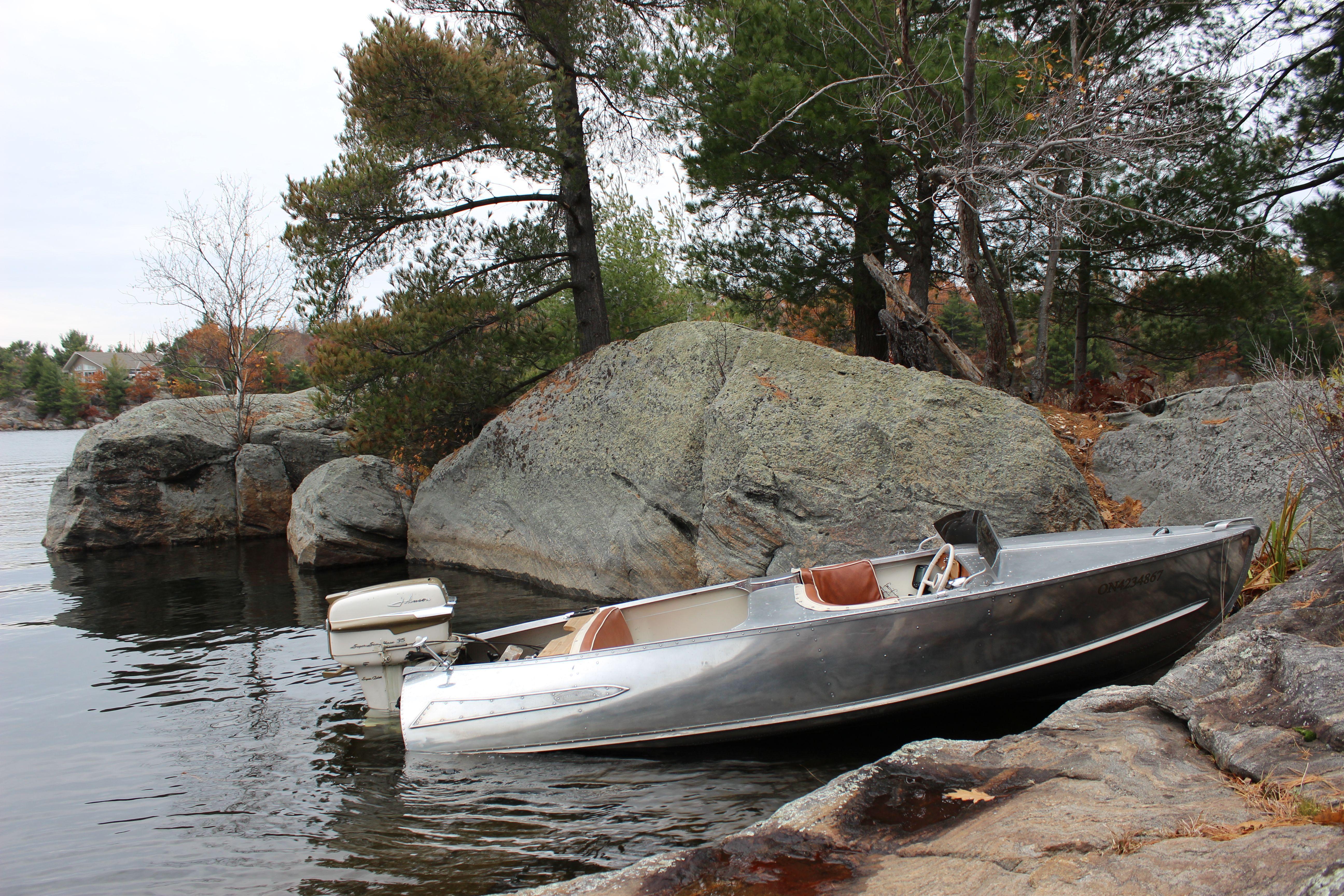 1958 Feathercraft Vagabond Boat in Mactier Ontario 2015 ...