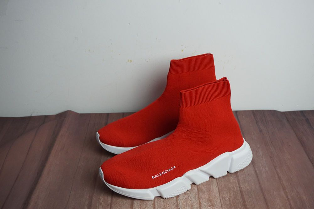 216578d3459a Balenciaga Speed Trainer Red White 2017 Women s Running Footgear Size 8   fashion  clothing  shoes  accessories  womensshoes  athleticshoes (ebay  link)