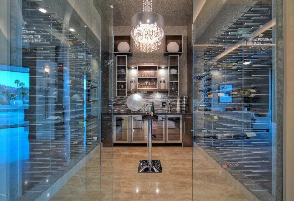Luxury Wine Cellar Via Http Www Stact Co Glasscellars