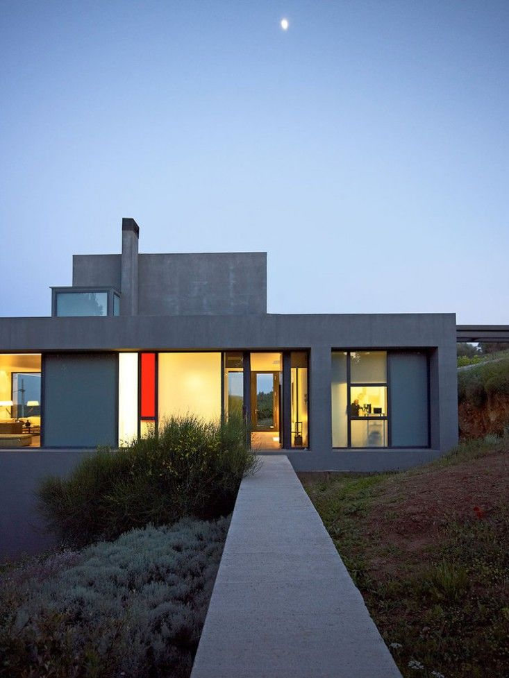 Architect Visit In Greece A House And Landscape With A Slow