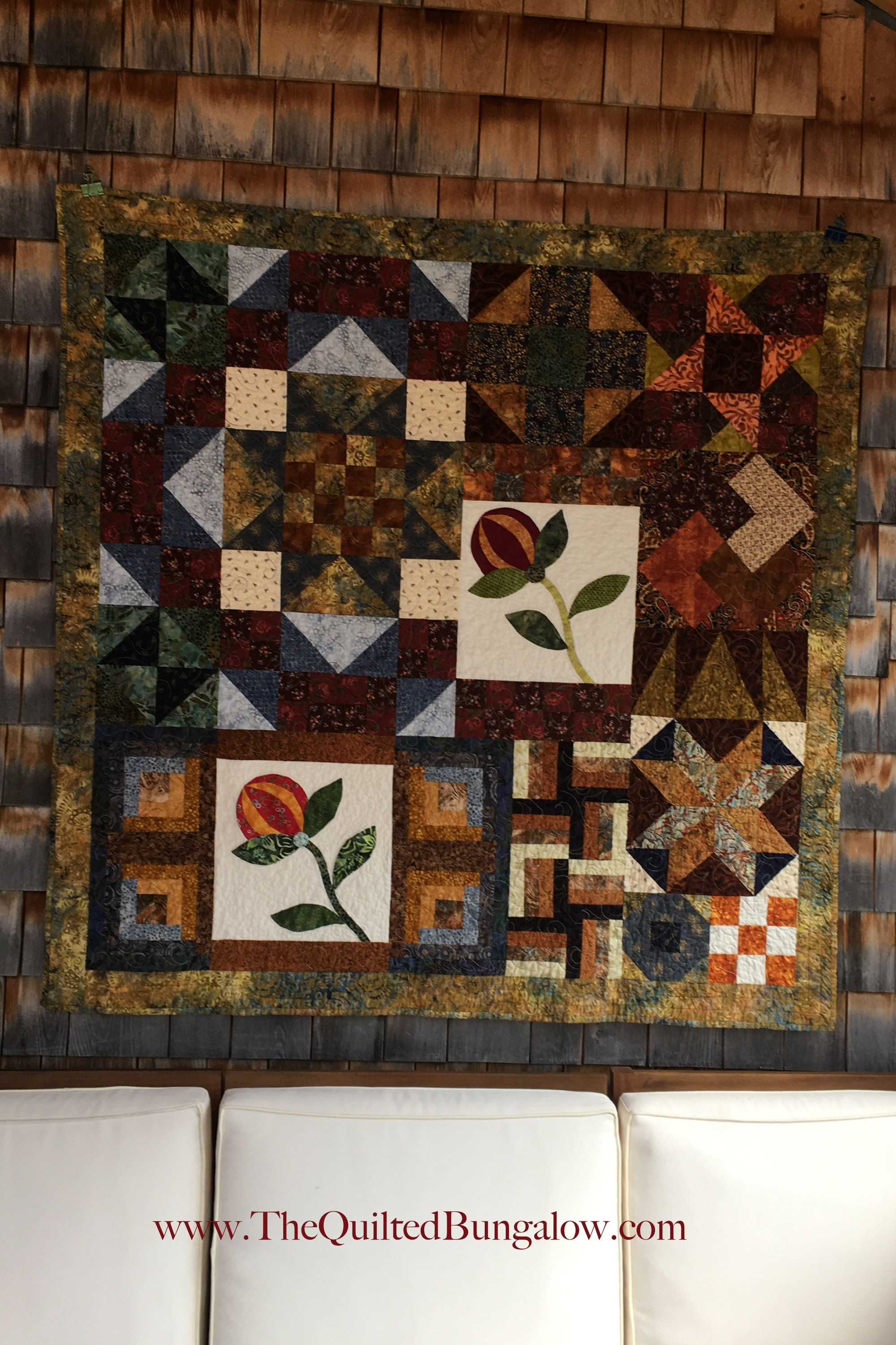 Welcome Home Homemade  Quilt wall Hanging  Home Decor