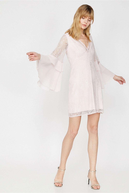 Koton Beyaz Elbise 9yak84668fk Elbise Elbise Modelleri Mini Elbiseler
