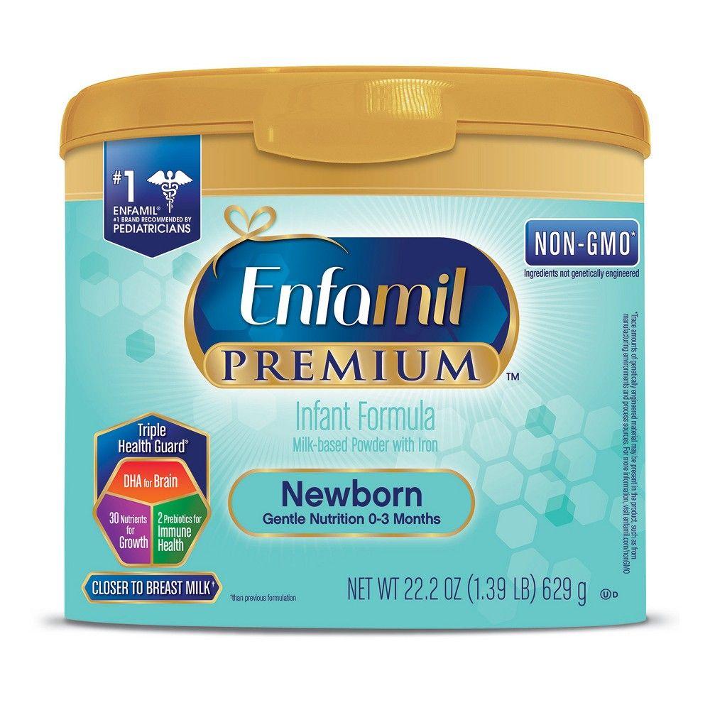 Enfamil Premium Newborn Formula Powder Tub 22 2oz