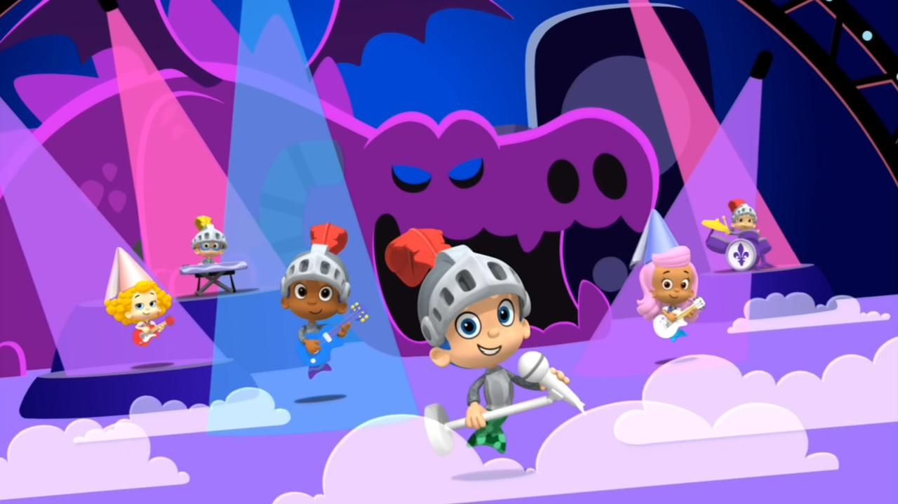 image result for bubble guppies sir nonny the nice nick jr