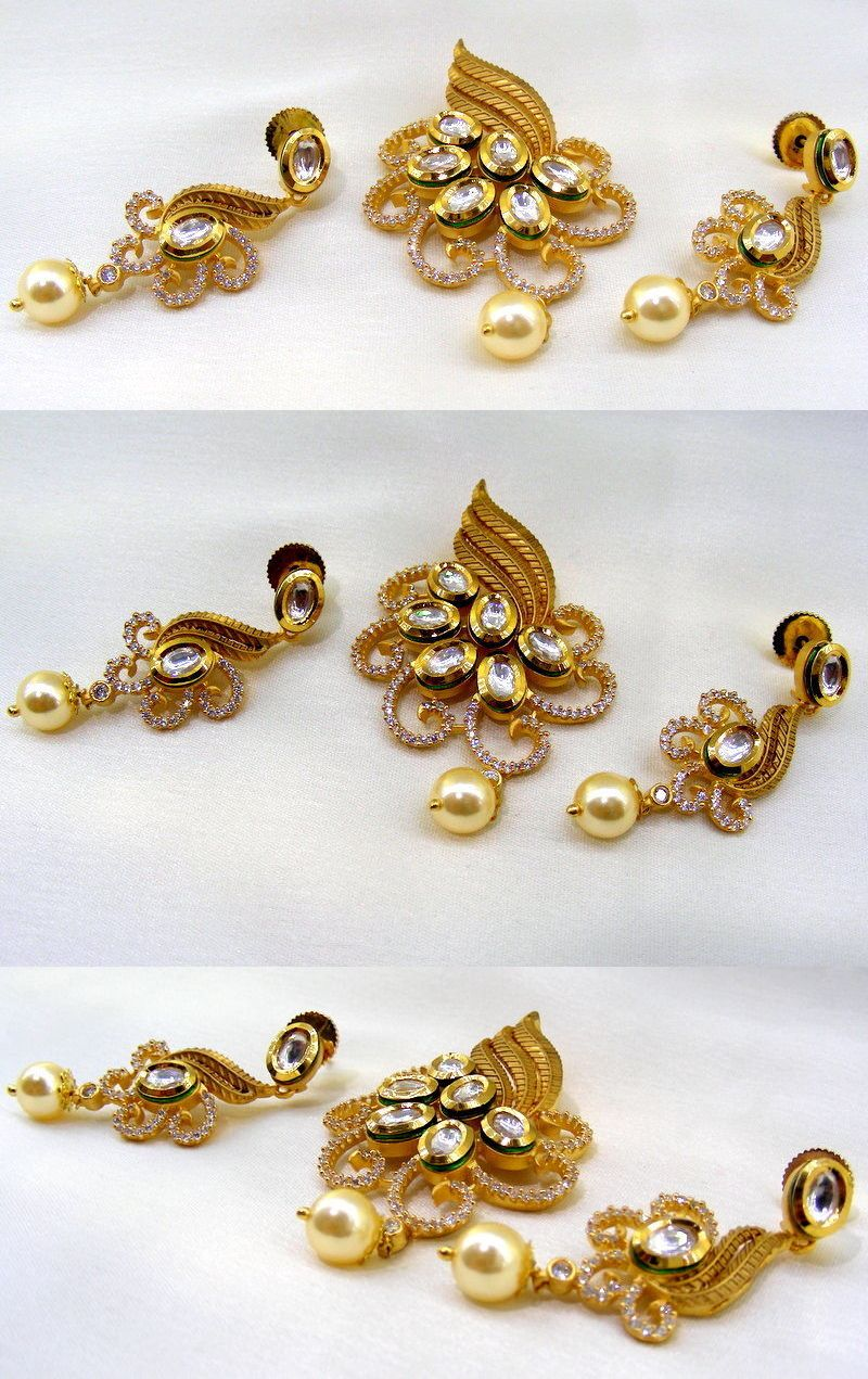 Other asian e indian jewelry ethnic kt gold plated girlish