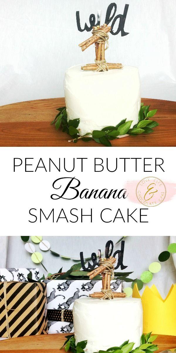 Peanut Butter Banana Smash Cake Gluten Free Dairy Refined Sugar