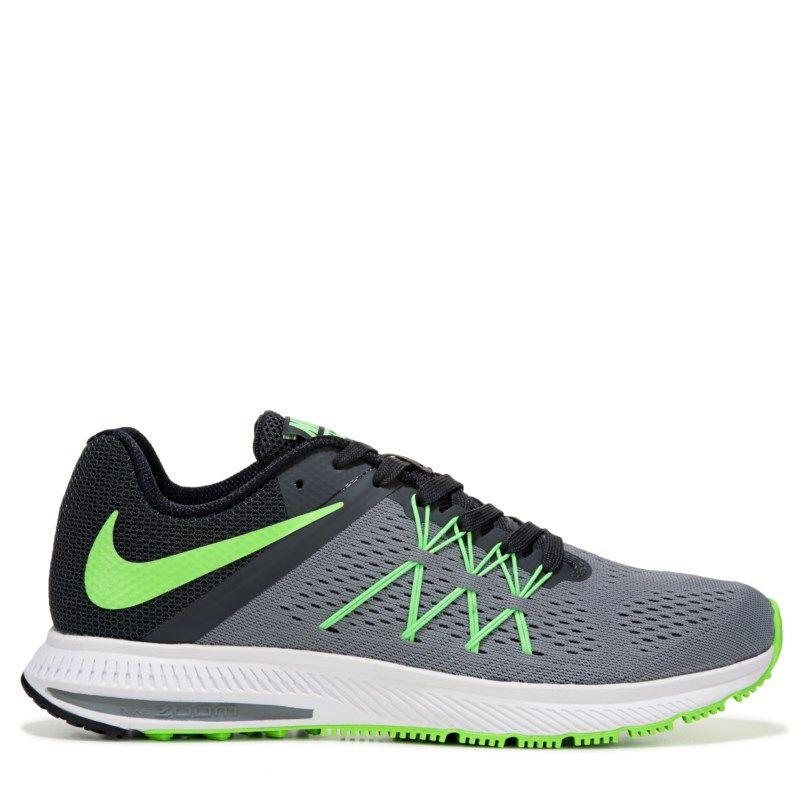 Black · Nike Men's Nike Zoom Winflo 3 Running Shoes ...