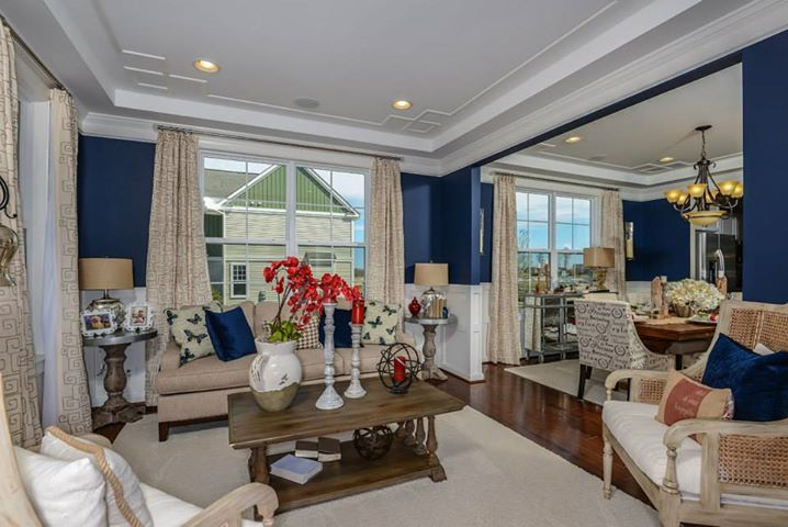 Lovely Open Floor Plan At Addison Model By K. Hovnanian Homes At Embrey  Mill.