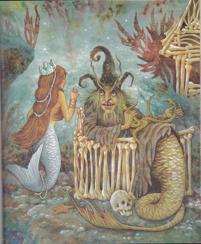 Little Mermaid - Vintage Childrens Book American