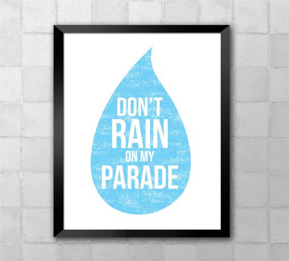 Funny Girl Don't Rain On My Parade Song Lyric Quote by LyricWall