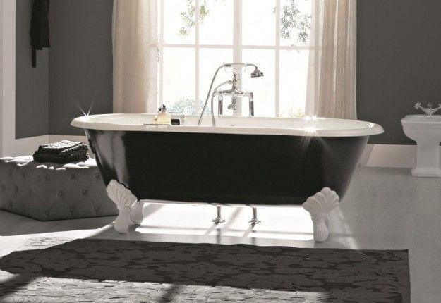 Vasca Da Bagno Vintage : Come arredare un bagno in stile vintage vasca nera dal sapore