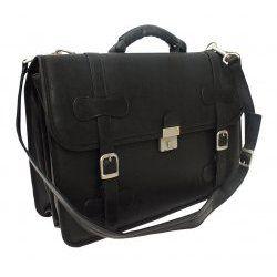 XXL Flap-Over Portfolio Bag - Leather by Piel Leather - $239.00