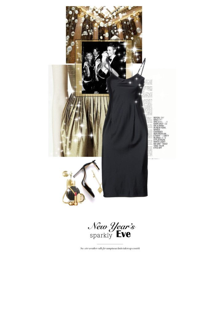 """""""Balloons On The Ceiling And Sparkles In The Eyes"""" by halfmoonrun ❤ liked on Polyvore featuring Tarina Tarantino, Temple St. Clair, Pierre Balmain, Estée Lauder, Christian Dior, Gianvito Rossi and nyestyle"""