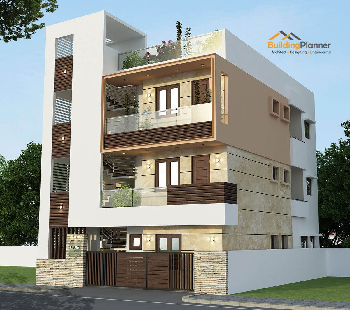30x40 East Facing House Plan Small House Elevation Design Architect Design House 3 Storey House Design