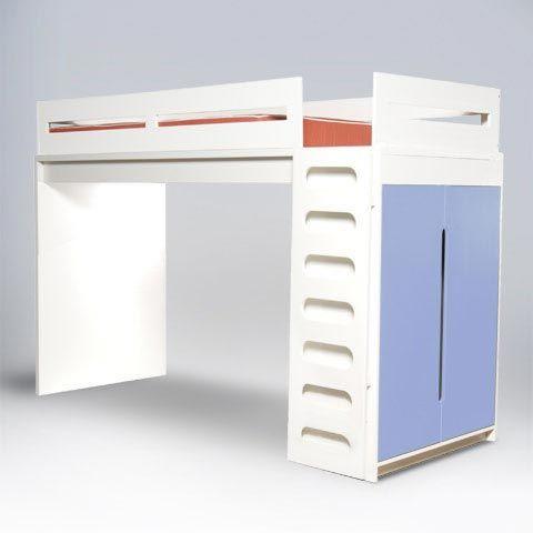 Best Ducduc Alex Loft Bed Loft Bed Kid Room Decor Modern 400 x 300