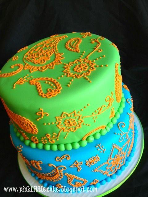 Fabulous Pink Little Cake Elephant Indian Theme Birthday Cake Indian Personalised Birthday Cards Xaembasilily Jamesorg