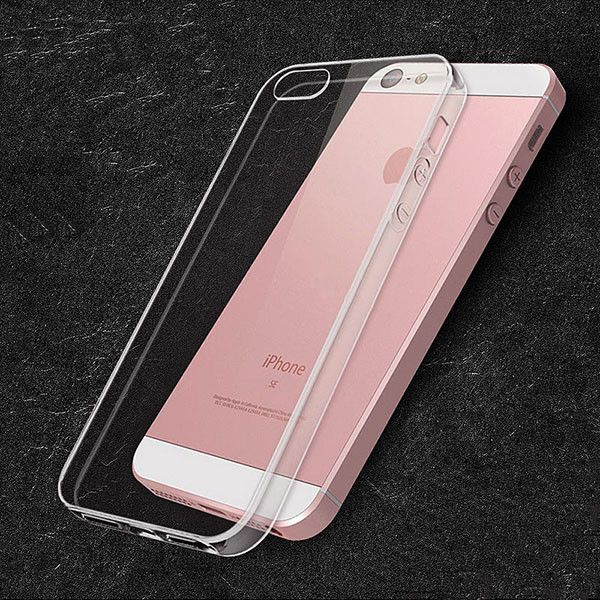 For iPhone 5 5s ,Bastec Ultra Thin Soft TPU Silicon Anti-Scratch Anti-fingerprint Shockproof Phone Case for iPhone 5 5s
