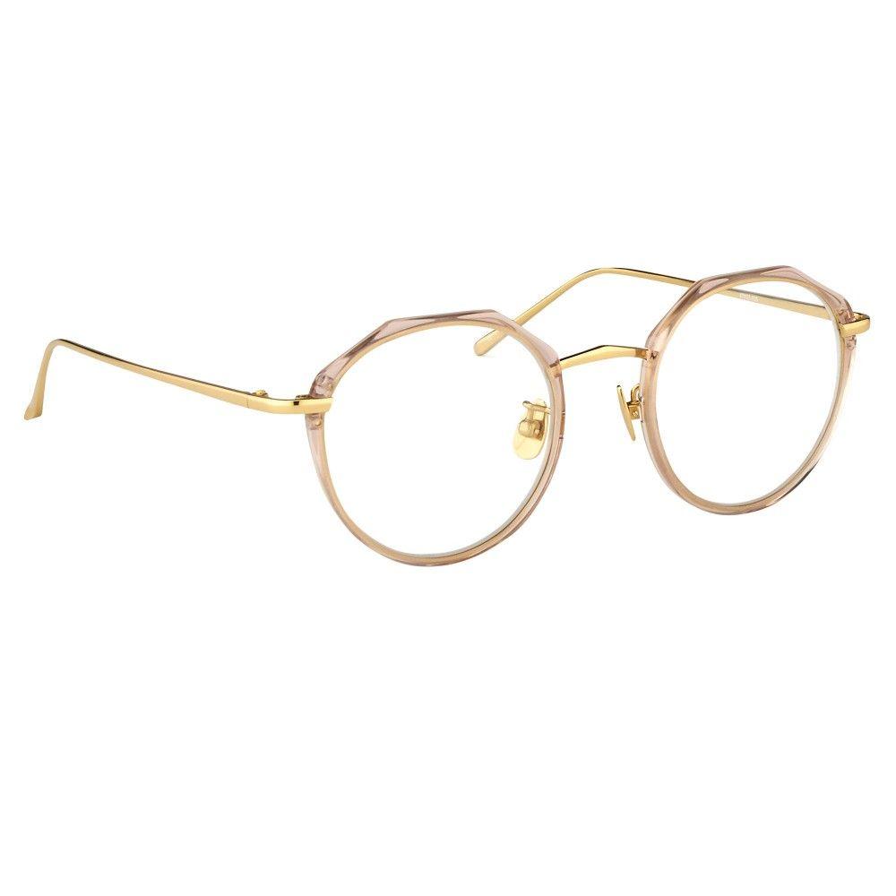 Oval Optical Frames by Linda Farrow in Tea Rose. - Linda Farrow ...