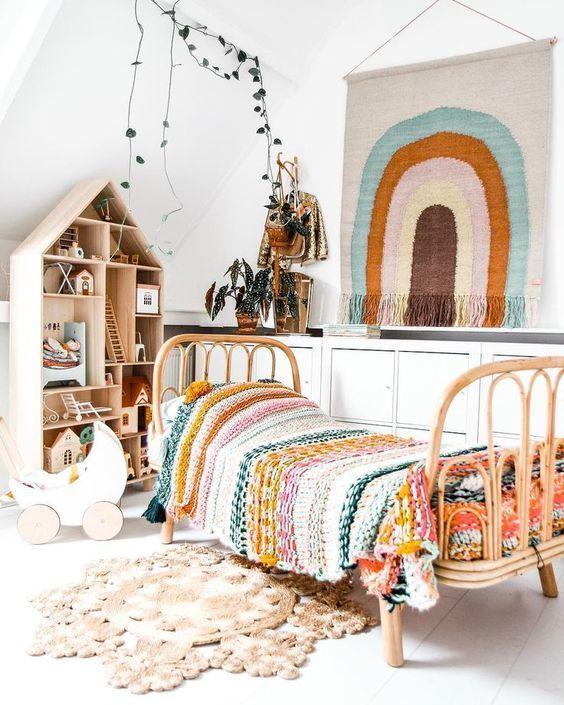Habitaciones infantiles en color blanco girls room - Habitaciones infantiles en blanco ...