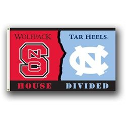 Ncsu Nc State Wolfpack Rivalry Tailgate Banner Nc State
