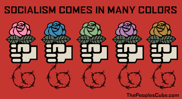 The Symbol For Socialism Is A Fist Holding A Rose This Picture
