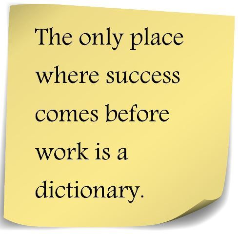 This Great Business Quote By Vidal Sassoon That Hard Work Will Lead To Wonderful Places