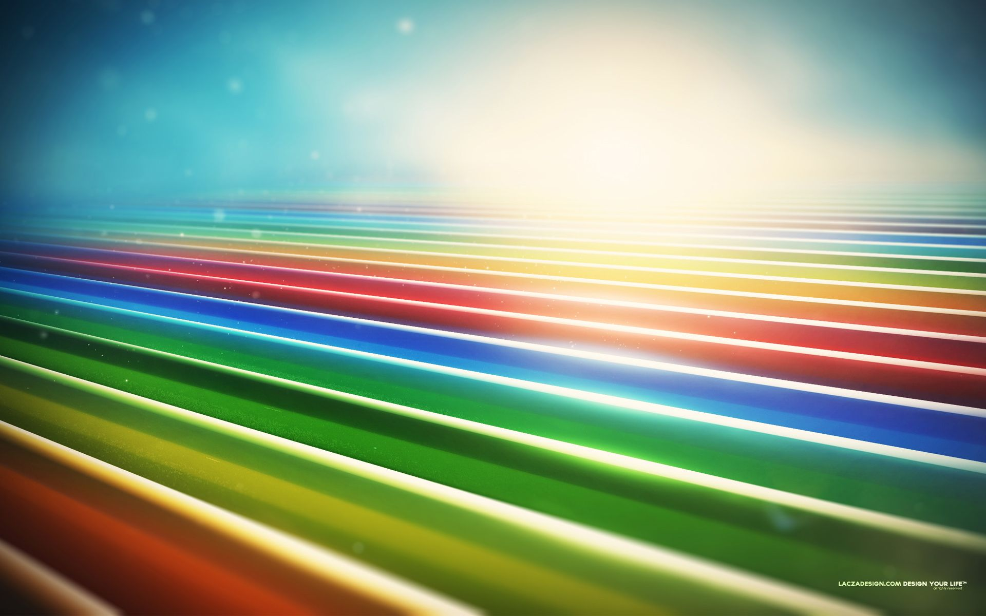 Colorful fields wallpaper  abstract pastel color rainbow also hd pinterest rh