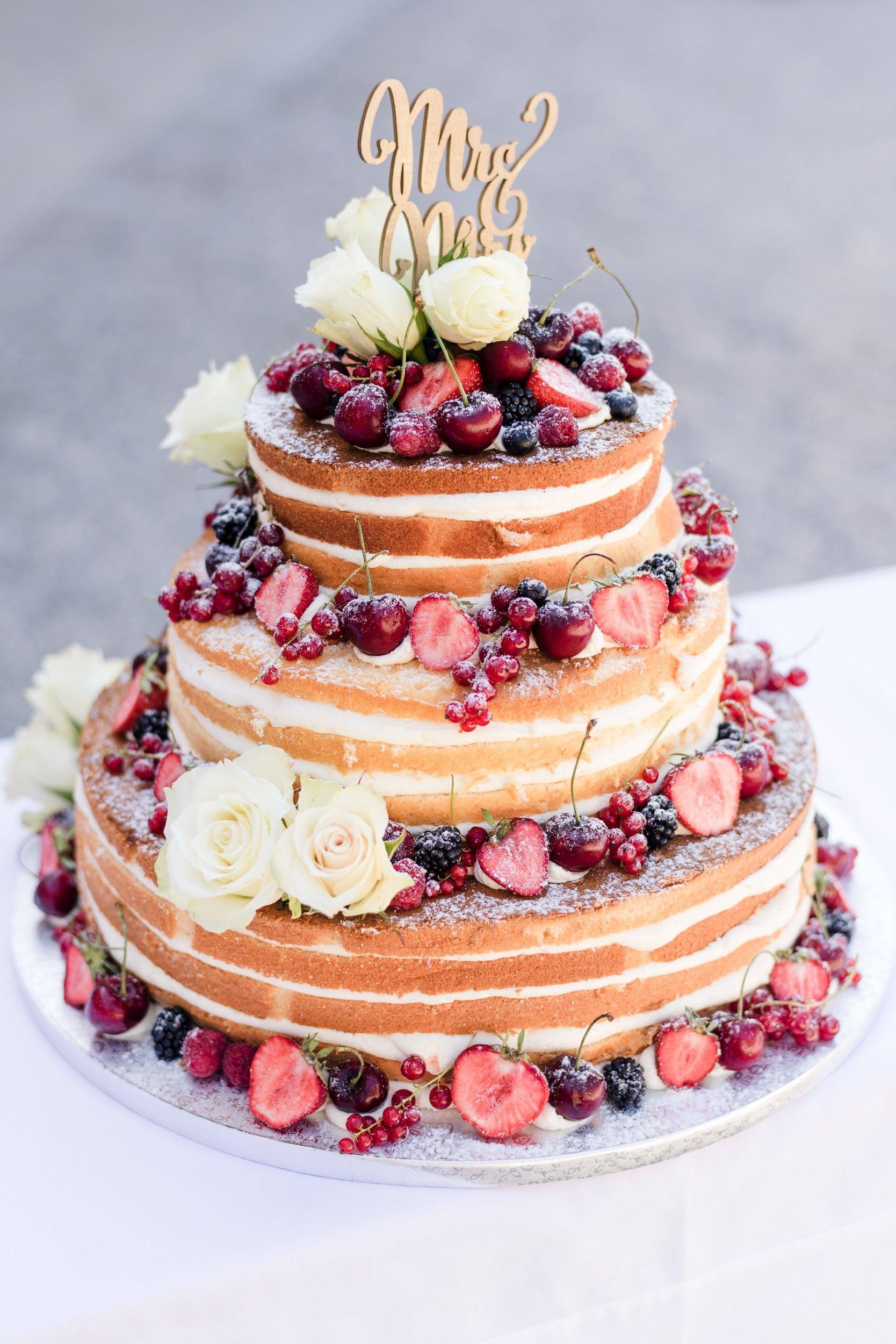 Entzückend Hochzeitstorte Bilder Das Beste Von Naked Cake Hochzeitstorte, Naked Cake, Vintage #torte