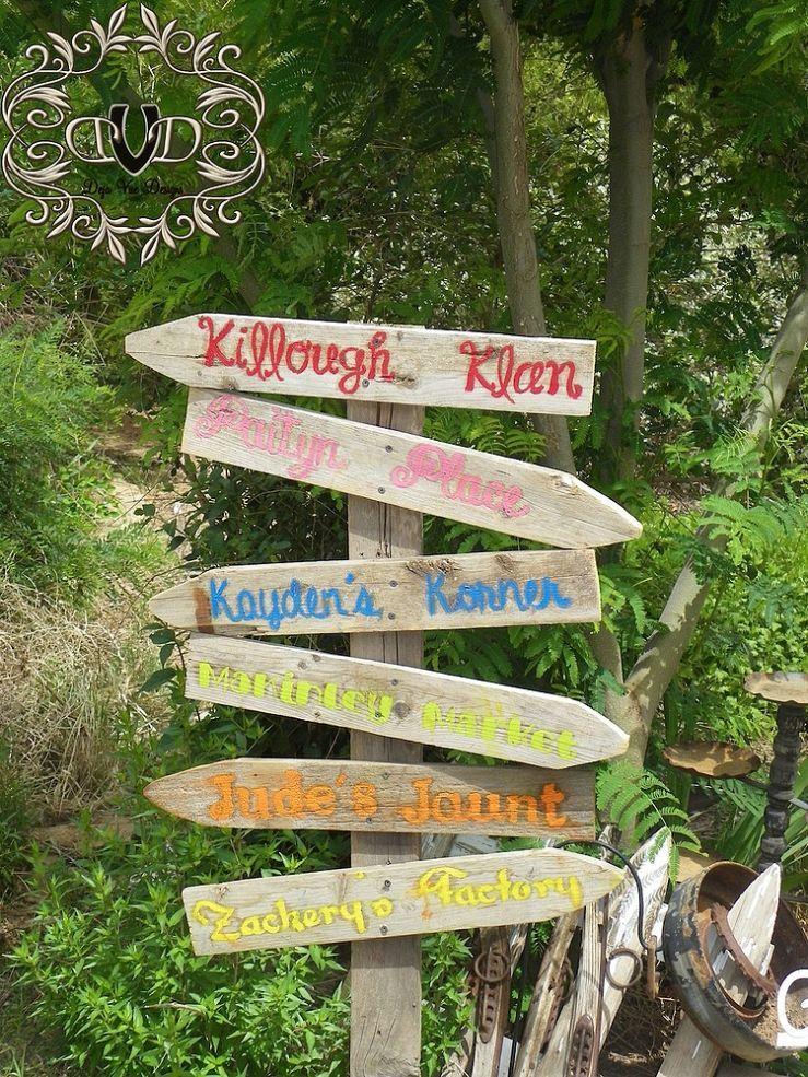 Fun Family Garden Sign For The Garden | Family Garden Garden Signs And Gardens