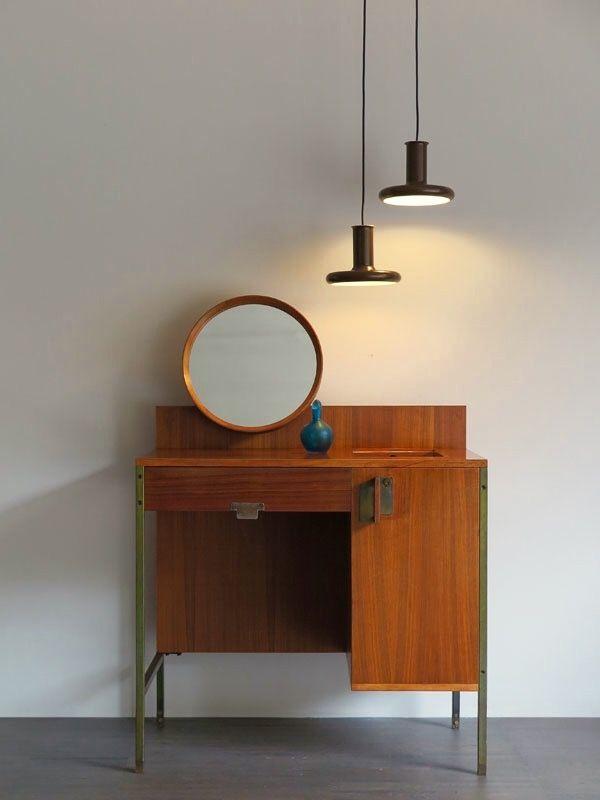 Mobili Moderni Italiani.Ico Parisi For Mim Rara Toiletta Serie Positano Disegnata