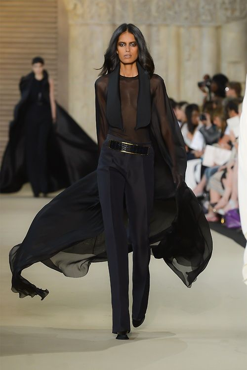 Lakshmi Menon at Stephane Rolland haute couture, fall 2012
