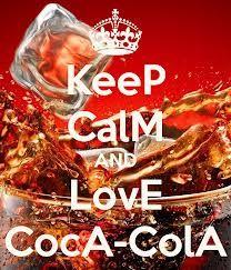 keep calm and love coca-cola