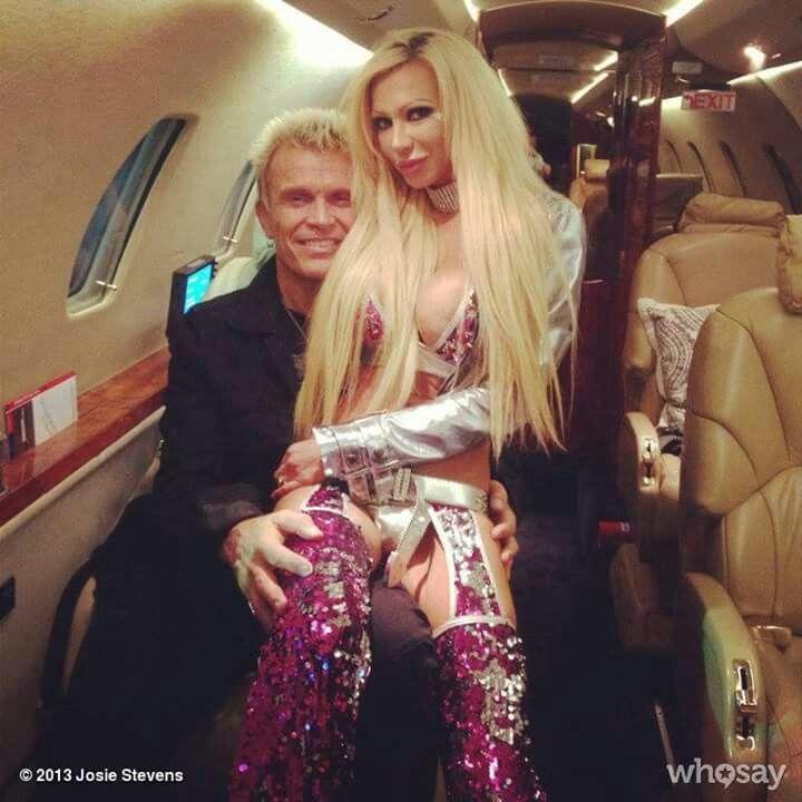 Billy Idol and Josie Stevens