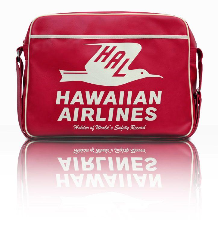 Vintage Hawaiian Airlines Bag