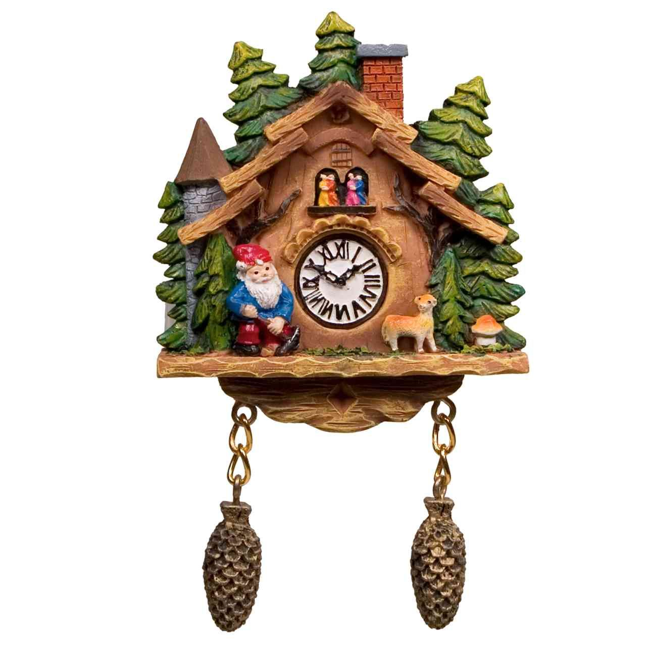 Cuckoo Clock Magnet - Gnome - only $4.40 | Unique Gifts & Home Decor | Karma